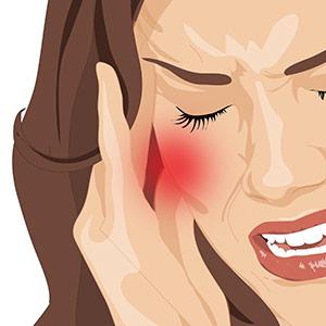 כאבים בלסת ותסמינים נלווים