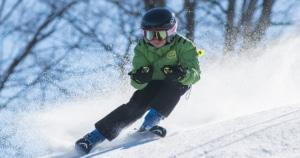 סקי ולחזור בריא