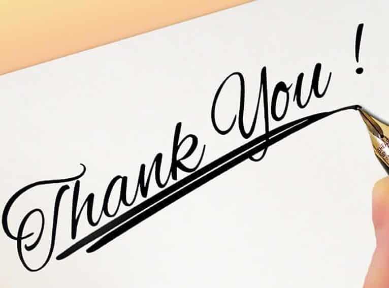 פציעות קרטה - מכתב תודה מאלוף עולם