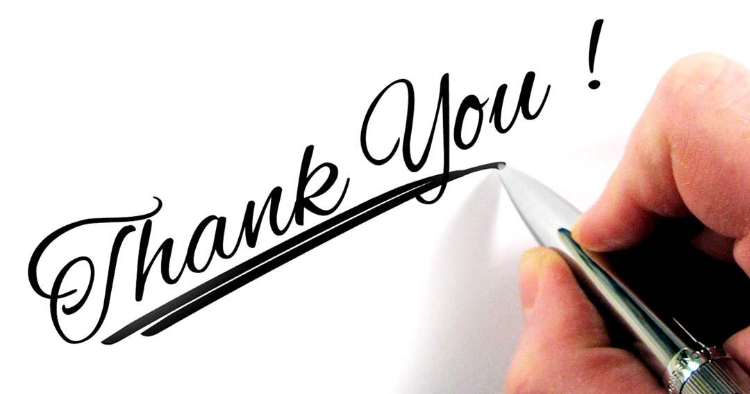 מכתב תודה על טיפול בגב וברגל