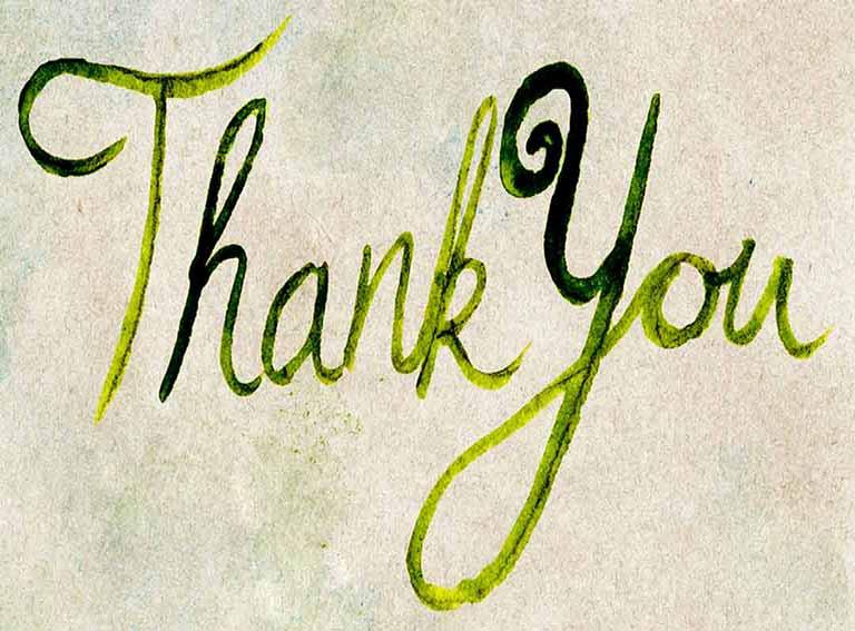 מכתב תודה על טיפול בפריצת דיסק בצוואר