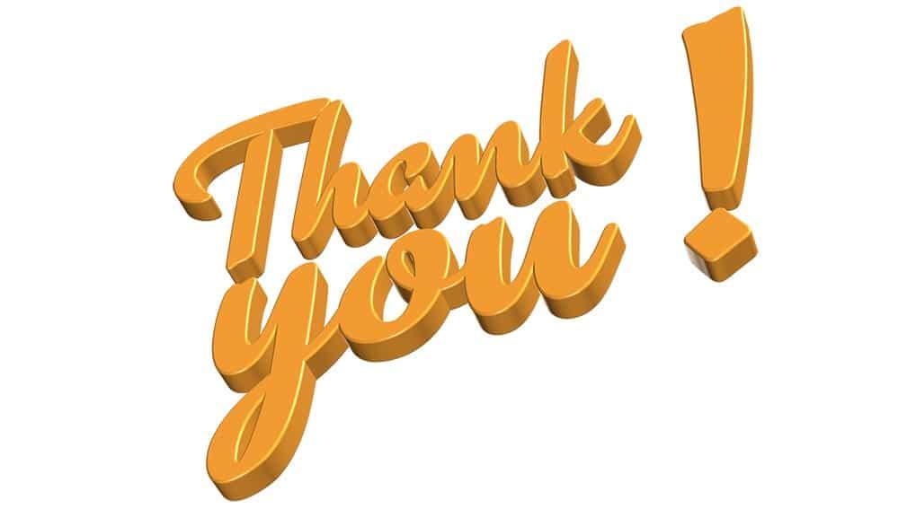 מכתב תודה על טיפול בדלקת בכתף