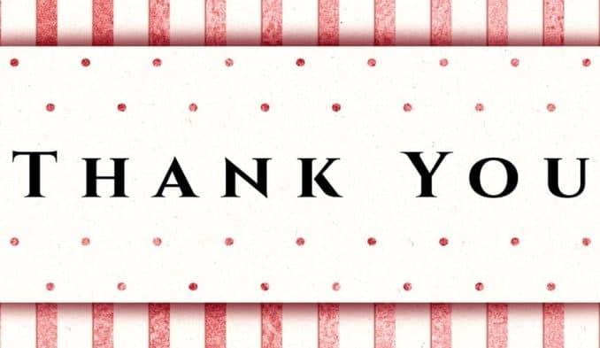 פריצת דיסק - מכתב תודה