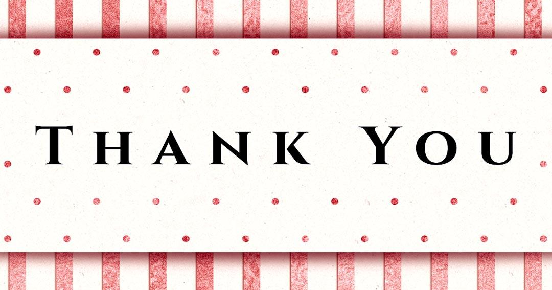 פריצת דיסק – מכתב תודה