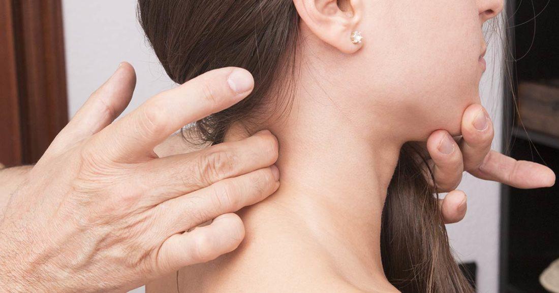 דלקת בצוואר