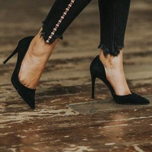 הנעלים יפות כפות הרגליים מכוערות