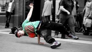 כאבים בכתף בקרב רקדנים