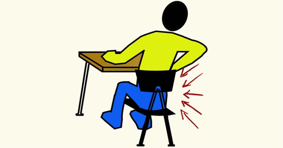 איך להתנהג כשיש כאבים בגב