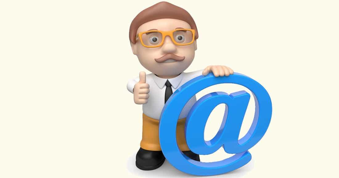 האם הגיע דואר אלקטרוני עבורי