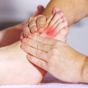 כאבים בכף רגל ובקרסול מה גורם לזה