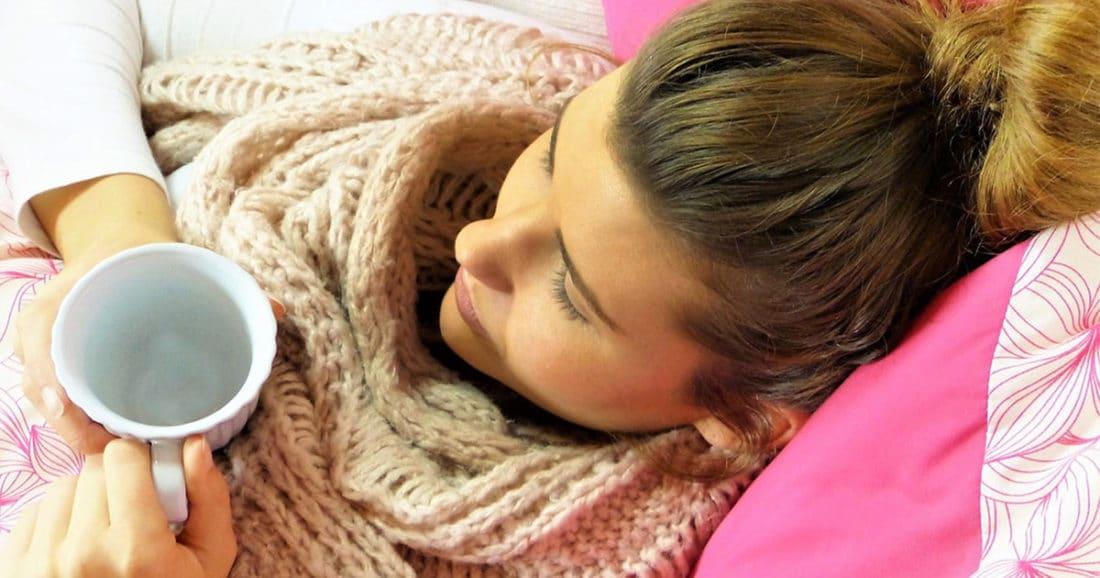 התקררות בגלל חוסר שינה