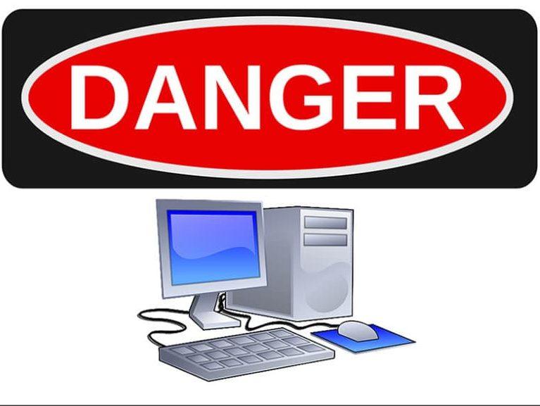 מחשב עלול להזיק