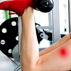 טיפול בכאב בשריר הירך האחורי