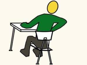 איך לשחרר גב תחתון תפוס