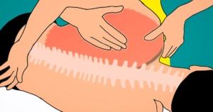 כאבים בגב האמצעי