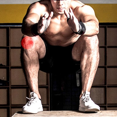 סקוואט גורם כאבי ברכיים