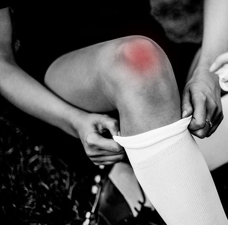 האם נכון להתאמן עם כאב בברך