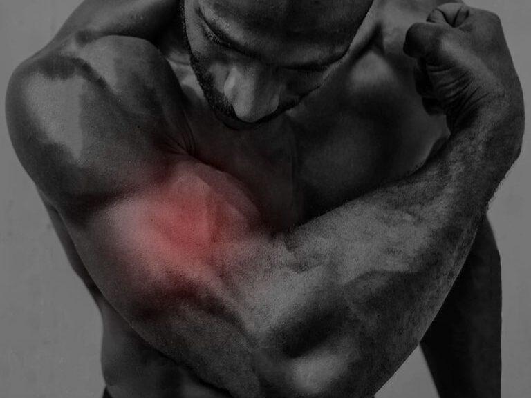 כאבים בשריר הזרוע הדו ראשי