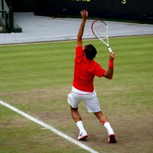 קרע בשריר התאומים מטניס