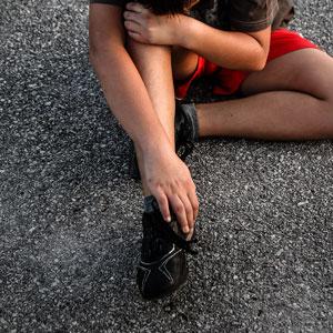 פציעות שכיחות בכף הרגל