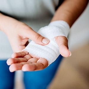 פציעות שכיחות בכף היד